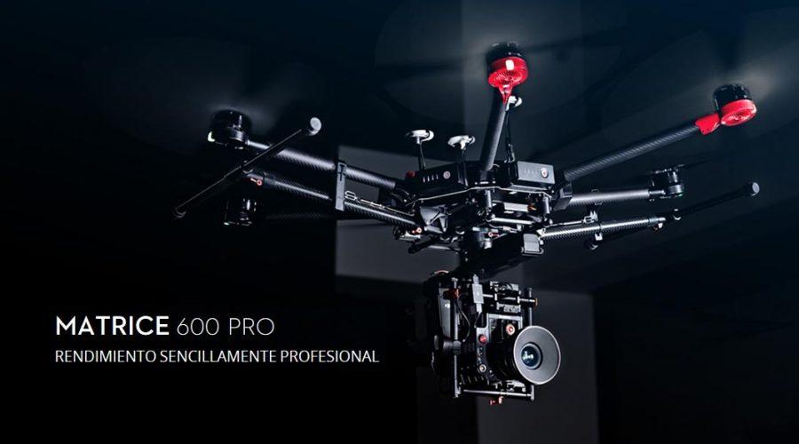 Video Dron DJI Matrice serie 600 PRO