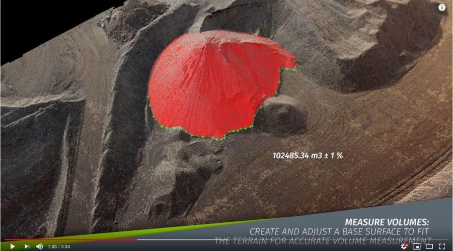 Video Software de procesamiento de imágenes Pix4DMapper Pro